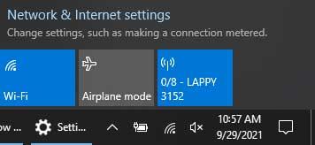 Windows Mobile Hotspot