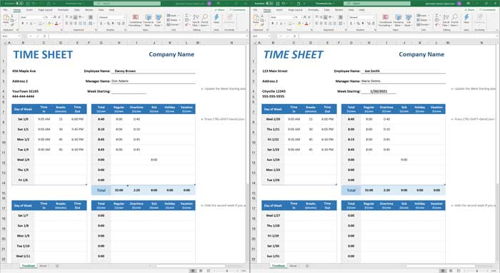 Microsoft Spreadsheet Comparison Tool