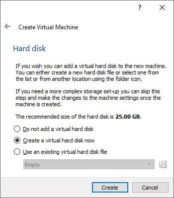 VirtualBox Hard Disk