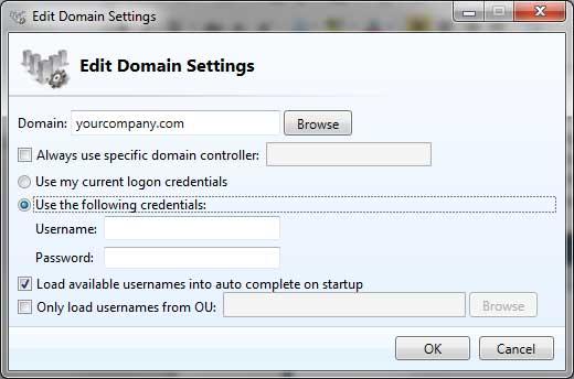 Active Directory Account Reset Tool