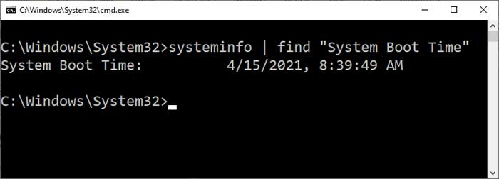 """systeminfo 